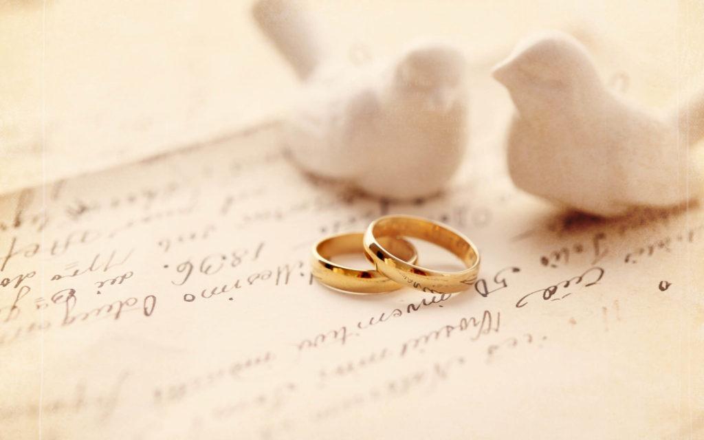 Cincin untuk wedding